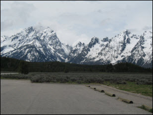 Picture of Grand Tetons National Park.