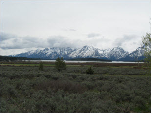 Picture of Grand Teton National Park.