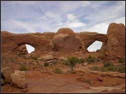 The Windows at Arches National Park.