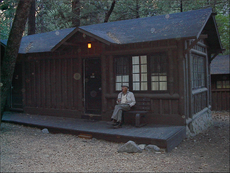 OK Mr. Our Heavenly Hard Sided Cabin In Yosemite National Park.